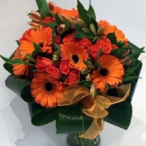 Orange Fusion - Get Well Flowers