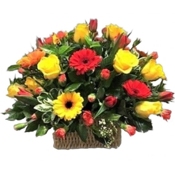 Sunset Basket - Home of Flowers