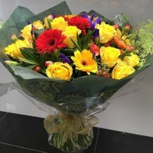 Sweet Sunrise - Hand Tied Flowers