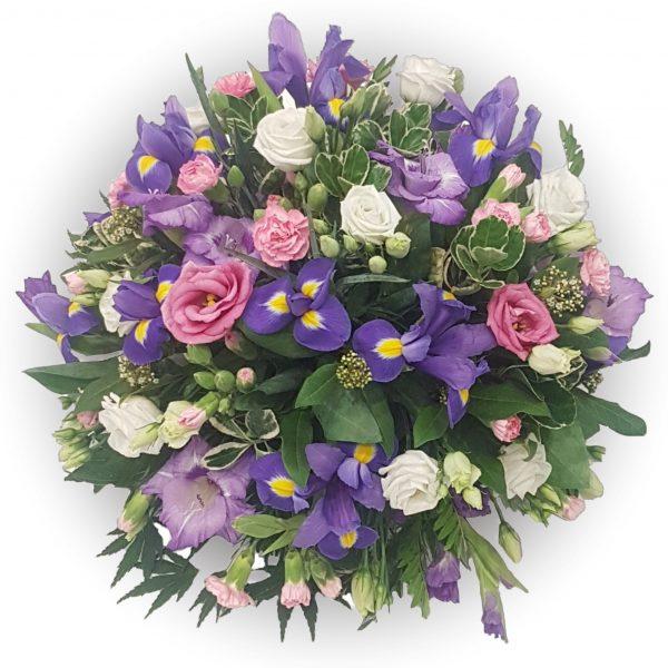 Purple Haze Funeral Posy