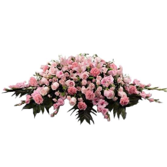 Sweetheart Mist Coffin Top