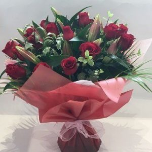 Ruby Passion – Valentines Roses
