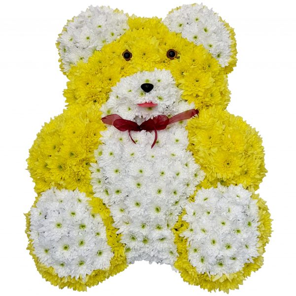 Teddy Bear Funeral Tribute