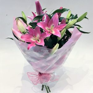 Pink Lily Wrap