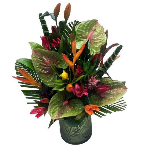 Tropical Vase Arrangement