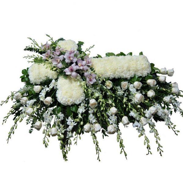Funeral Cross Coffin Top