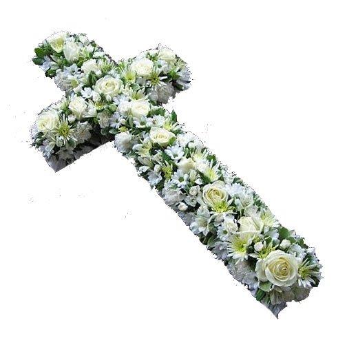 Heavenly Delight Funeral Cross