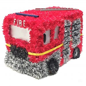 Fire Engine Funeral Tribute