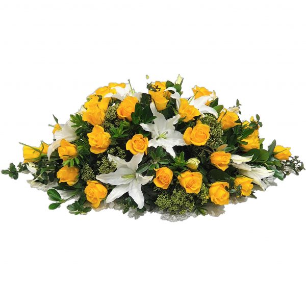 Rose & Lily Funeral Spray